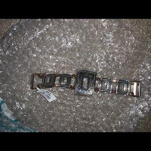 Brighton two tone large bracelet NWT